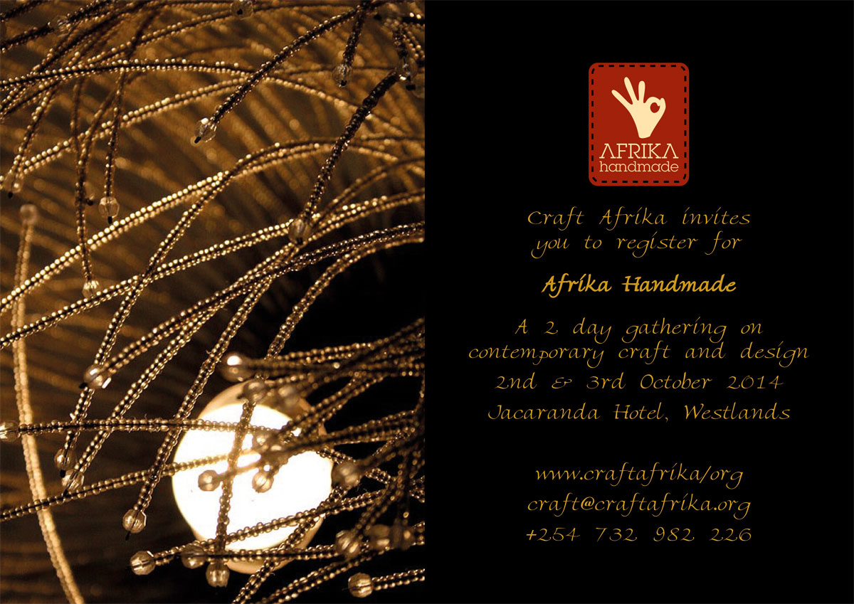 Afrika Handmade- focus on contemporary craft and design