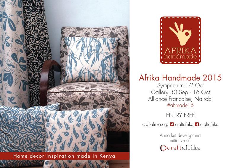 Afrika Handmade 2015 poster